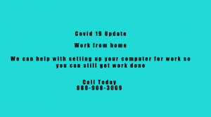 Image of Covid 19 work from home 300x166